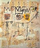 The Ruffians 1982 - Jean-Michel-Basquiat