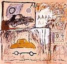 Cadillac Moon 1981 - Jean-Michel-Basquiat