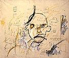 Aaron I 1981 - Jean-Michel-Basquiat