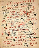 Untitled Quality 1983 - Jean-Michel-Basquiat