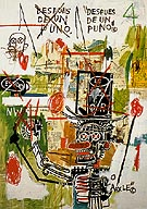 Despues de un Puno 1987 - Jean-Michel-Basquiat