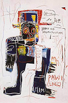 Irony of Negro Policeman 1981 - Jean-Michel-Basquiat