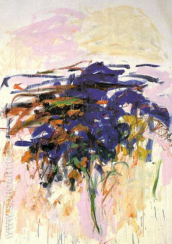 118 Untitled 1992 - Joan Mitchell reproduction oil painting