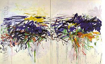 119 Untitled 1992 - Joan Mitchell reproduction oil painting