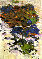 Yues 1991 - Joan Mitchell reproduction oil painting
