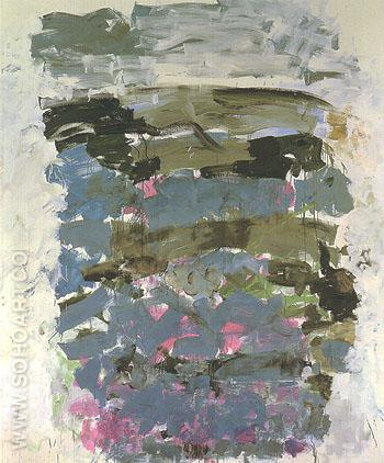 Champs 1990 - Joan Mitchell reproduction oil painting