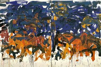 106 Untitled 1992 - Joan Mitchell reproduction oil painting