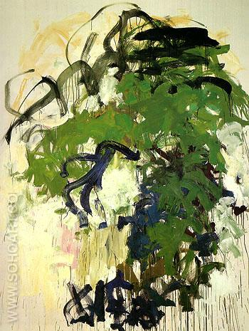 After April Bernie 1987 - Joan Mitchell reproduction oil painting