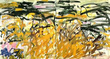 No Birds 1987 - Joan Mitchell reproduction oil painting