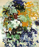 Chord VII 1987 - Joan Mitchell reproduction oil painting