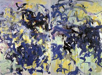 Lille I 1987 - Joan Mitchell reproduction oil painting