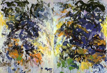Beauvais 1987 - Joan Mitchell reproduction oil painting
