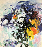 Chord V 1986 - Joan Mitchell reproduction oil painting