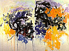 Lille V 1986 - Joan Mitchell reproduction oil painting