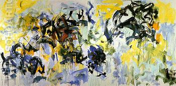 River II 1986 - Joan Mitchell reproduction oil painting