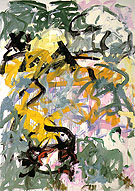 Before Again VI 1985 - Joan Mitchell reproduction oil painting