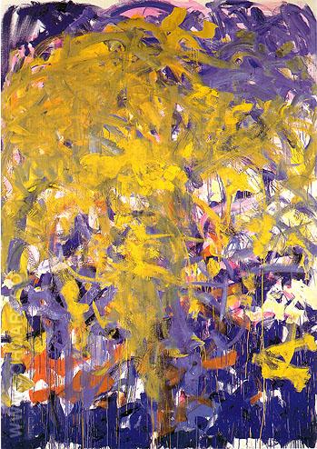 Before Again III 1985 - Joan Mitchell reproduction oil painting