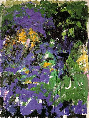 La Grand Vallee IV 1983 - Joan Mitchell reproduction oil painting