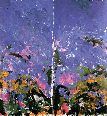 La Grand Vallee VI 1983 - Joan Mitchell reproduction oil painting