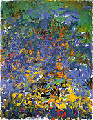 La Grand Vallee 1983 - Joan Mitchell reproduction oil painting