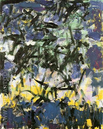 65 Untitled 1978 - Joan Mitchell reproduction oil painting