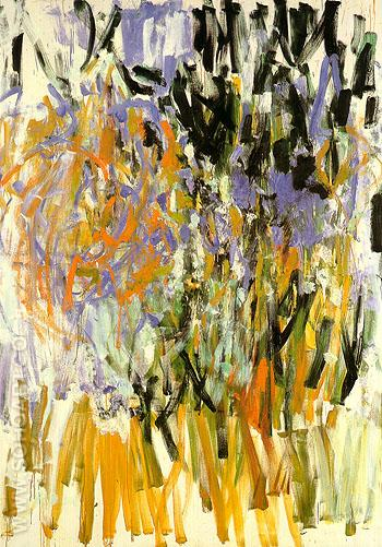 Straw 1976 - Joan Mitchell reproduction oil painting