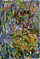 Rosebud 1977 - Joan Mitchell reproduction oil painting