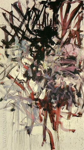 Red Tree 1976 - Joan Mitchell reproduction oil painting
