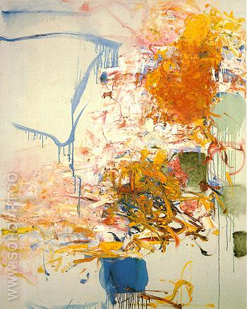 49 Untitled 1969 - Joan Mitchell reproduction oil painting