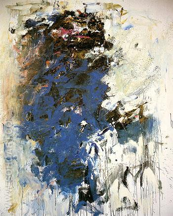 Blue Tree 1964 - Joan Mitchell reproduction oil painting