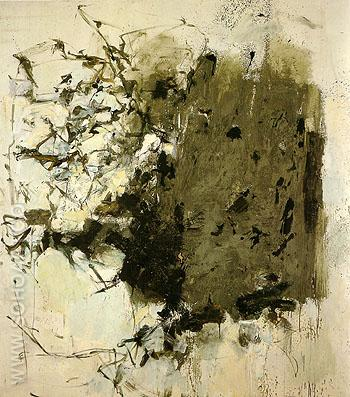 First Cypress 1964 - Joan Mitchell reproduction oil painting