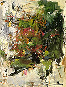 36 Untitled 1962 - Joan Mitchell reproduction oil painting