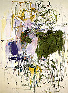 37 Untitled 1963 - Joan Mitchell reproduction oil painting
