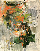 35 Untitled 1962 - Joan Mitchell reproduction oil painting