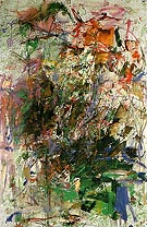 Bonhomme de bois 1961 62 - Joan Mitchell reproduction oil painting