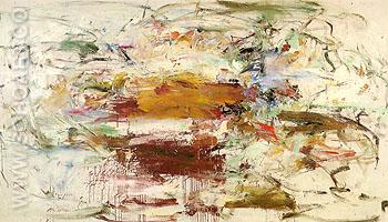 County Clare 1960 - Joan Mitchell reproduction oil painting