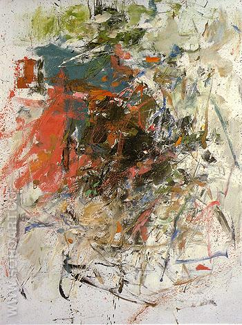 Chatiere 1960 - Joan Mitchell reproduction oil painting
