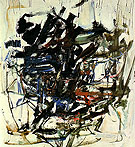 26 Untitled c1960 - Joan Mitchell reproduction oil painting