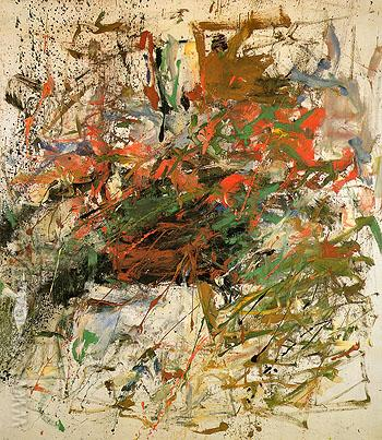 27 Untitled 1960 - Joan Mitchell reproduction oil painting