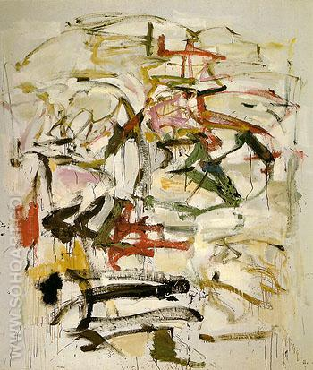 21 Untitled 1958 - Joan Mitchell reproduction oil painting