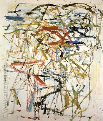 22 Untitled 1958 - Joan Mitchell reproduction oil painting