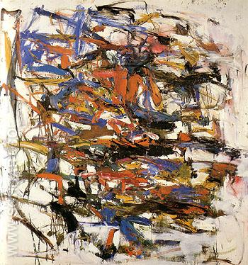 19 Untitled 1957 - Joan Mitchell reproduction oil painting