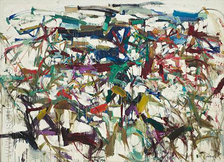 Ladybug 1957 - Joan Mitchell reproduction oil painting
