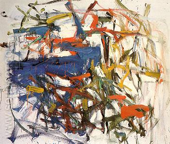 18 Untitled 1958 - Joan Mitchell reproduction oil painting