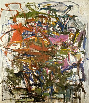 16 Untitled 1958 - Joan Mitchell reproduction oil painting