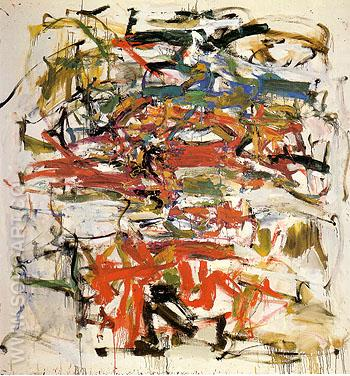 14 Untitled 1957 - Joan Mitchell reproduction oil painting