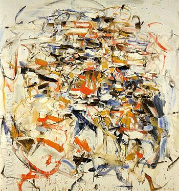 Casino 1956 - Joan Mitchell reproduction oil painting