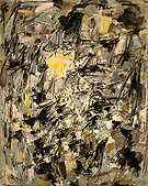 5 Untitled 1954 - Joan Mitchell reproduction oil painting