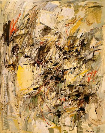 Untitled 1954 - Joan Mitchell reproduction oil painting