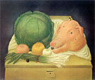 Still Life with Pigs Head 1968 - Fernando Botero reproduction oil painting